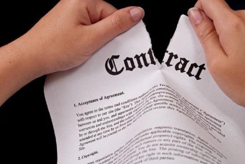 آموزش فسخ قرارداد,حق فسخ قرارداد,رای فسخ قرارداد